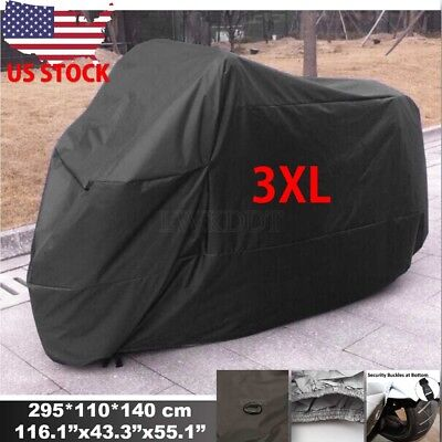 XXXL Waterproof Motorcycle Cover For Honda Goldwing Valkyrie Rune GL 1500 1800