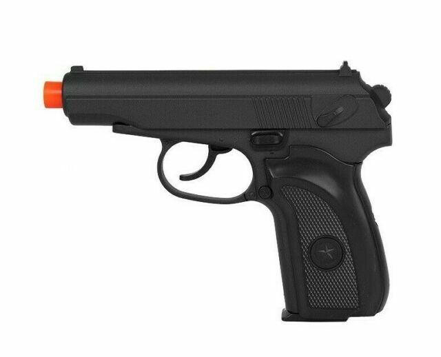 Uk Arms G29b Metal Spring Airsoft Soviet Makarov Pistol Handgun Shoots 245 Fps For Sale Online Ebay