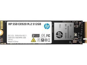 HP EX920 M.2 512GB PCIe 3.0 x4 NVMe 3D TLC NAND Internal Solid State Drive (SSD)