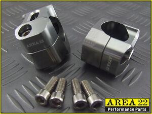 Z125 16-17 Area 22 Alu Fat Handle Bars /& Mounts Combo 28mm Black Kawasaki Pro