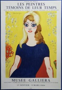 Kees-Van-Dongen-Brigitte-Bardot-Lithography-Original-Signed-Mourlot-1964
