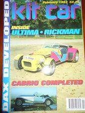 Kit Car Feb 1993 Ultima, Rickman