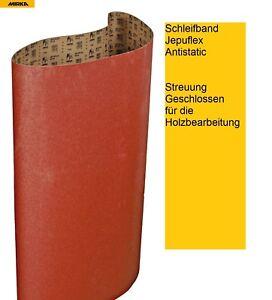 Mirka Schleifbänder Jepuflex Antistatic 200x2000 mm Körnung wählbar VE-10 Bänder