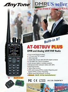 AnyTone-AT-D878UV-Plus-GPS-Bluetooth-3100-mAh-battery-and-more-US-seller
