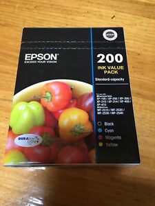 Epson-200-Value-Pack-Ink-cartridge-Black-yellow-cyan-magenta-Expired-07-18
