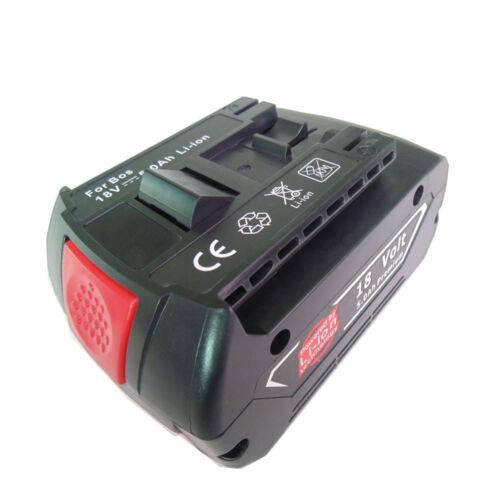 18V Akku Bosch GBA 5,0 Ah Li-Ion M-C 2607337070 Ersatzakku A++ 3165140791649