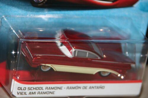 "SHIP WORLDWIDE DISNEY PIXAR CARS /""OLD SCHOOL RAMONE/"" NEW IN PACKAGE"