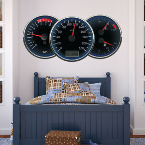 Image Is Loading Sdometer Sdo Wall Sticker Garage Decal Boys