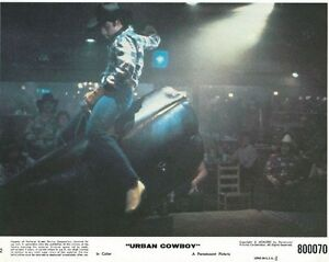 URBAN-COWBOY-1980-Three-3-original-8x10-Mini-Lobby-Cards-JOHN-TRAVOLTA