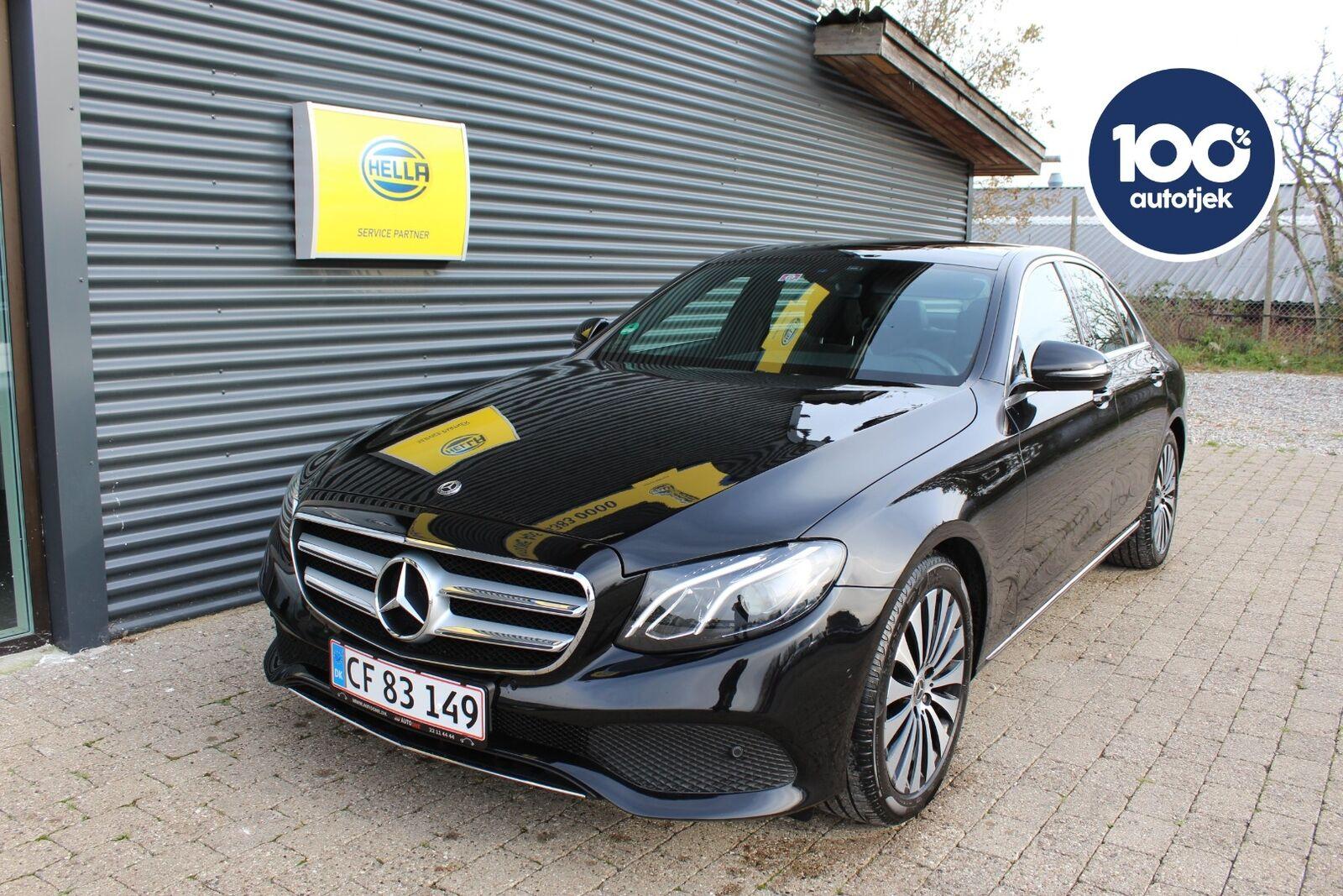 Mercedes E200 2,0 aut. 4d