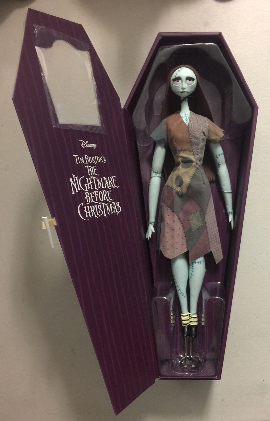 Nuovo The Nightmare Before Christmas Edizione Limitata le 5600 Sally Bambola