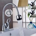 Kitchen Swivel Spout Single Handle Sink Faucet Pull Down Spray Mixer Tap Chrome