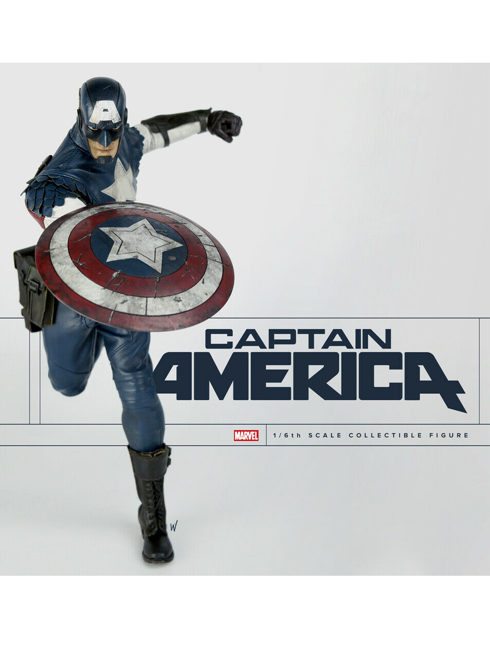ThreeA 3A Marvel Captain America 1 6th Scale Figure Classic Edition Ashley Wood