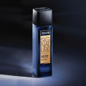 Axe Signature Gold Mens Black Musk Cedar Wood Eua De Toilette