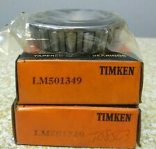 Timken Lm501349 Roller Bearing Cone Lot Of 2 Nos