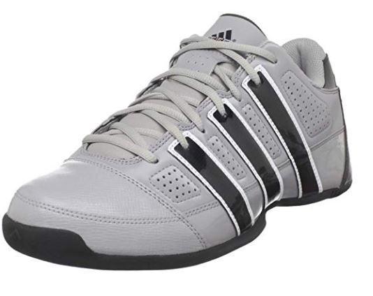 Adidas Commander Lite TD Low Basketball Shoes - Aluminium/Black - Men's 12 (US)