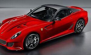 1-18-BBR-Ferrari-Racing-Exotic-Sport-Race-Car-gt-f-gp-gto-Carousel-Red-Model-Mr