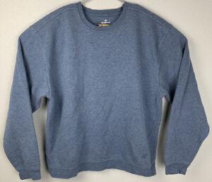 Nordic-Track-Pullover-Sweatshirt-Blue-Mens-L-Large