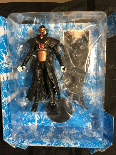 """McFarlane DC Multiverse Batman Who Laughs with Sky Tyrant Wings 7"""" NO BAF"""