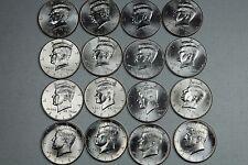 2009 2010 2011 2012 2013 2014 2015 2016 P D Kennedy Uncirculated Mint Roll Set
