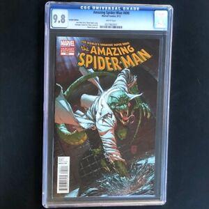 Amazing Spider-Man #690 (Marvel 2012) 💥 CGC 9.8 💥 Lizard Variant Cover! Comic