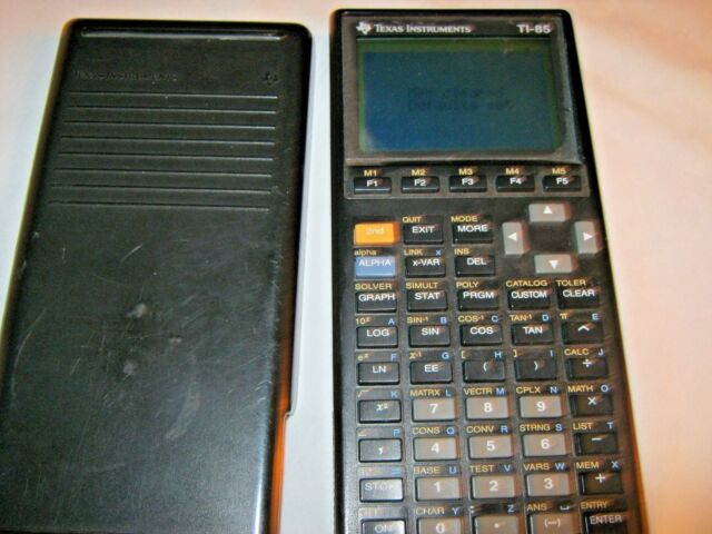 Texas Instruments TI-85 Advanced Graphing Scientific Calculator-Free Shipping