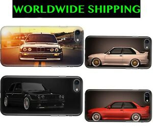 c086e93c3b BMW E30 M Sport Tuning Case Skin Cover for iPhone 4/5/6/7/8 Plus X ...