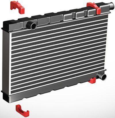 EL CAMINO 68-72 Small Block Radiator Urethane Radiator Isolators 7-1711BL