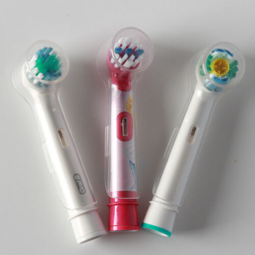 5Pcs Electric Toothbrush Head Protective Cover Case for Oral B Tooth Brushes
