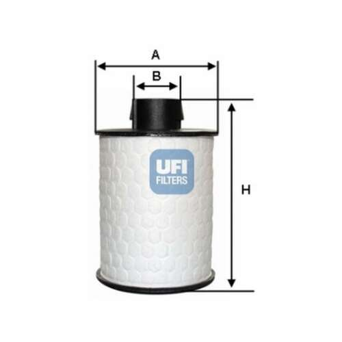Genuine UFI Fuel Filter Insert 60.H2O.00