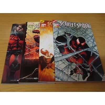 Scarlet Spider Sonderband Nr.1-4 komplett (Marvel Panini) 2013 - 2014