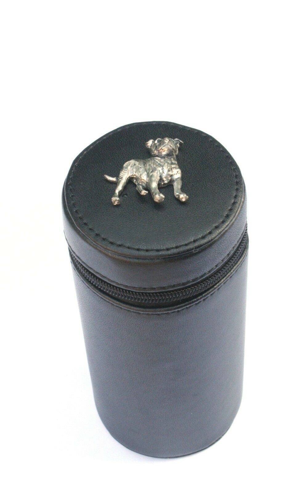 Staffy Shooting Peg Position Finder Numberojo Cups 1-10 negro Leather Case