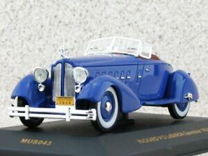 PACKARD V12 LeBaron Speedster - 1934 - blue - IXO 1:43
