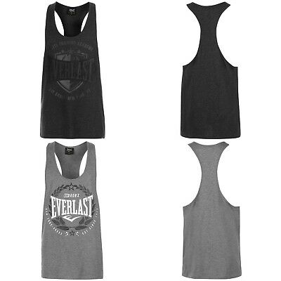 Activewear Activewear Tops Responsible Everlast String Vest Tank Top Ärmellos T-shirt Training Rocky Balboa Gym Sport Suitable For Men And Women Of All Ages In All Seasons