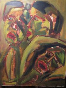 Peinture de Damien Bodins, acrylique sur toile, 1997 - France - Type: Acrylique Authenticité: Original mis en vente par lartiste Période: XXme et contemporain Caractéristiques: Sur toile - France
