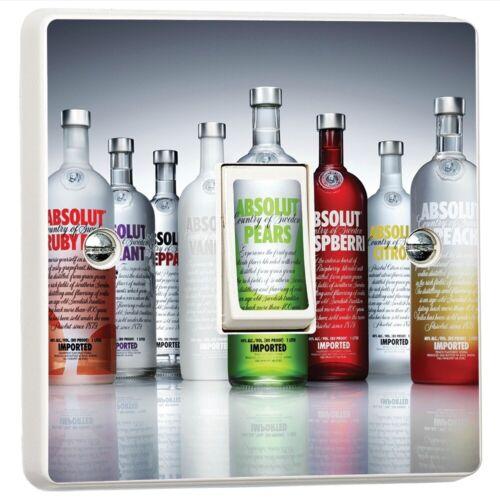 Absolut Vodka Bar Discothèque Interrupteur De Lumière Sticker Cover étui Vinyle Mur Autocollant