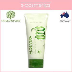 NATURE-REPUBLIC-Soothing-amp-Moisture-Aloe-Vera-Cleansing-Gel-Cream-150ml