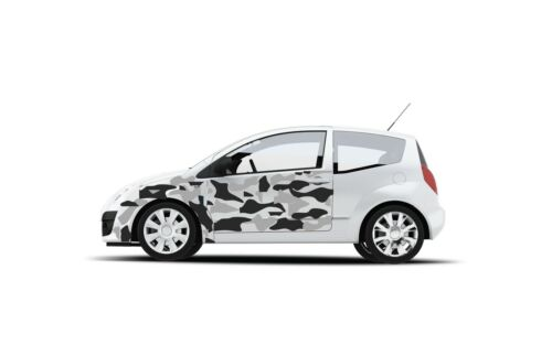 CAR CAMO KIT GRAPHICS VINYL DECALS STICKERS CAMOUFLAGE VINYL ANY SMOOTH SURFACES