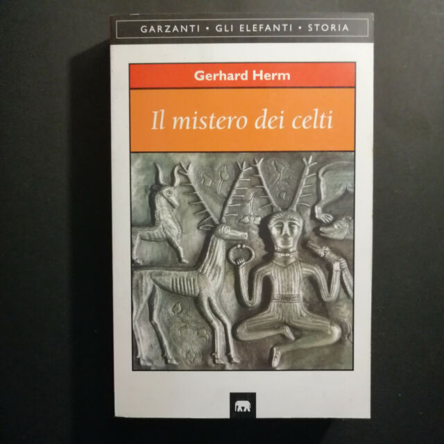 """GERHARD HERM """"IL MISTERO DEI CELTI"""" 1996"""