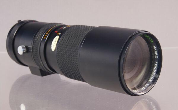Diligent Rmc Tokina Macro Accroc Zoom 100-300 Mm 1:5 Minolta Mc Lens Objectif - 32279 Divers Styles