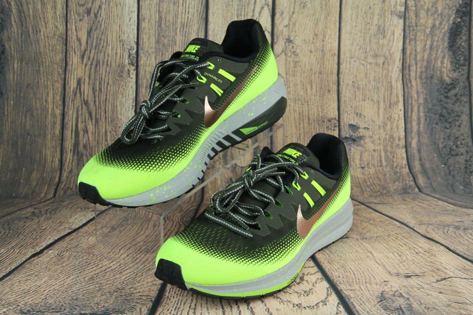 Nike wasserabweisend air zoom struktur 20 schild wasserabweisend Nike grüne bronze 849581-300 männer sz 6d83ab