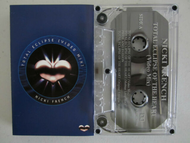 NICKI FRENCH TOTAL ECLIPSE (VIDEO MIX)  AUSTRALIAN CASSINGLE TAPE