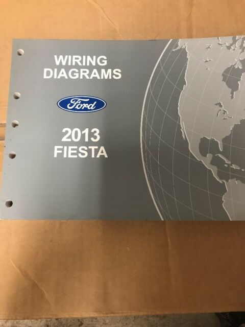 2013 Ford Fiesta Wiring Diagram Manual  Oem  Free Ship