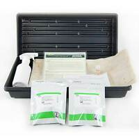 Hydroponic Chia Microgreens Growing Kit- Grow Black Chia Micro Greens Easy & Fun