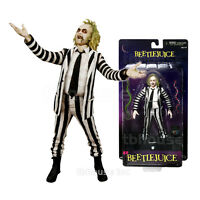 Neca Beetlejuice (Black and White Outfit) Cult Classics - 0634482607435 Toys