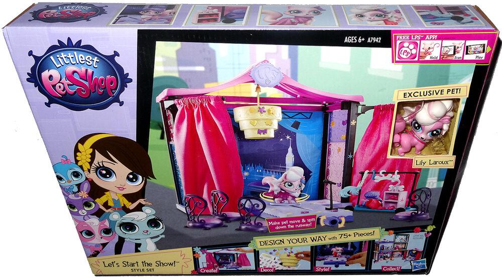 Liten stil för djuraffären Låt oss börja Show MIB Hasbro leksak \\35;A7942