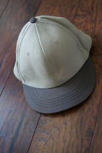 622ad3a76e099 Men s Natural Beige Brown 108 Hat Cap Adjustable Sustainable Organic ...