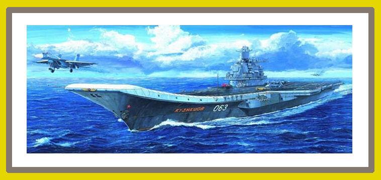 ◆ Trumpeter 1 700 05713 Russian Admiral Kuznetsov, Kuznetsov Class
