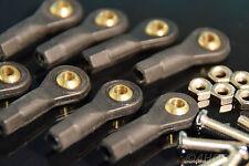 8 Kugelgelenk 27 x 3mm M3 Kugelkopf Spurstange Lenkkopf Modellbau RC Trial