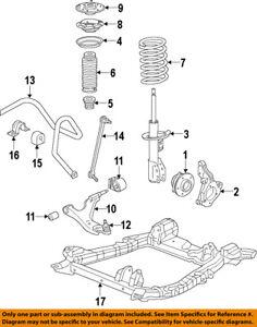 cadillac gm oem 10 16 srx front suspension strut 22793799 ebay rh ebay com cadillac srx front suspension diagram cadillac srx front suspension diagram